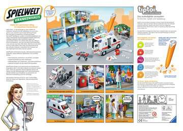 00772 tiptoi® Spielwelten tiptoi® Spielwelt Krankenhaus von Ravensburger 2
