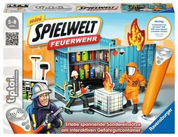 00774 tiptoi® Spielfiguren tiptoi® mini Spielwelt Feuerwehr: Gefahrguteinsatz von Ravensburger 1