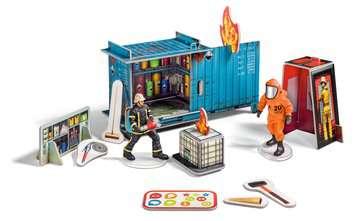 00774 tiptoi® Spielfiguren tiptoi® mini Spielwelt Feuerwehr: Gefahrguteinsatz von Ravensburger 3