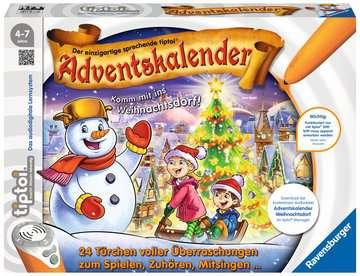 00778 tiptoi® Spiele tiptoi® Adventskalender - das Weihnachtsdorf von Ravensburger 1
