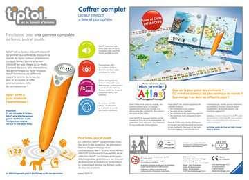 tiptoi® - Coffret complet lecteur interactif + Livre Atlas tiptoi®;Lecteur et coffrets complets tiptoi® - Image 2 - Ravensburger