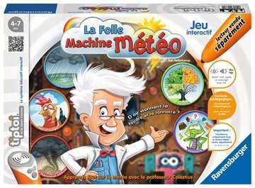 La folle machine Météo tiptoi®;Jeux tiptoi® - Image 1 - Ravensburger