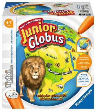 00785 tiptoi® Spiele tiptoi® Mein interaktiver Junior Globus von Ravensburger 1