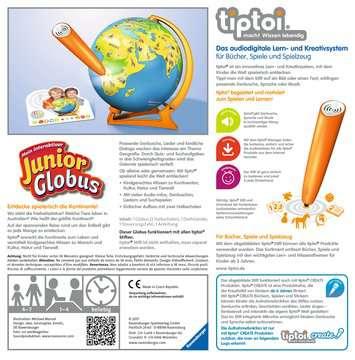 00785 tiptoi® Spiele tiptoi® Mein interaktiver Junior Globus von Ravensburger 2