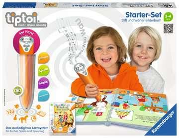 00800 tiptoi® Starter-Sets tiptoi® Starter-Set: Stift und Wörter-Bilderbuch von Ravensburger 1