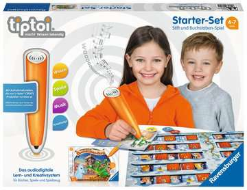 tiptoi® Starter-Set: Stift und Buchstaben-Spiel tiptoi®;tiptoi® Starter-Sets - Bild 1 - Ravensburger
