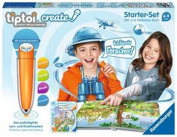 tiptoi® CREATE Starter-Set: Stift und Weltreise-Buch tiptoi®;tiptoi® CREATE - Bild 1 - Ravensburger