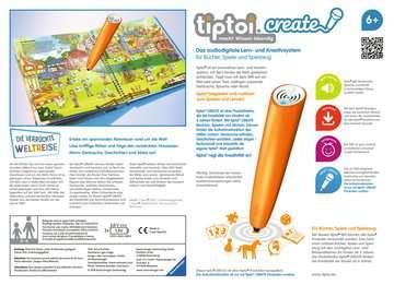 tiptoi® CREATE Starter-Set: Stift und Weltreise-Buch tiptoi®;tiptoi® CREATE - Bild 2 - Ravensburger