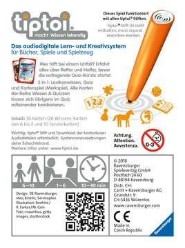 00829 tiptoi® Spiele tiptoi® Wissen & Quizzen: Retter und Helfer von Ravensburger 2