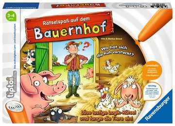 00830 tiptoi® Spiele tiptoi® Rätselspaß auf dem Bauernhof von Ravensburger 1