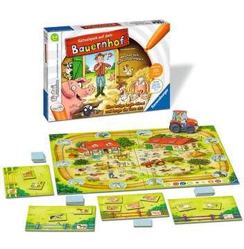00830 tiptoi® Spiele tiptoi® Rätselspaß auf dem Bauernhof von Ravensburger 6