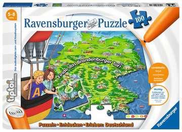 00831 tiptoi® Puzzle tiptoi® Puzzlen, Entdecken, Erleben: Deutschland von Ravensburger 1