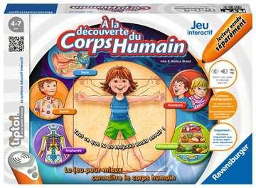 tiptoi® - A la découverte du corps humain tiptoi®;Jeux tiptoi® - Image 1 - Ravensburger
