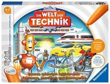 tiptoi® Die Welt der Technik tiptoi®;tiptoi® Spiele - Bild 1 - Ravensburger