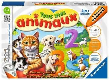 Tous mes animaux tiptoi®;Jeux tiptoi® - Image 1 - Ravensburger