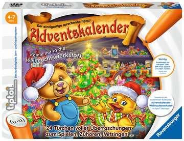 tiptoi® Adventskalender - die Weihnachtswerkstatt tiptoi®;tiptoi® Adventskalender - Bild 1 - Ravensburger