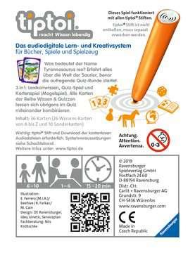 00842 tiptoi® Spiele tiptoi® Wissen und Quizzen: Die Welt der Saurier von Ravensburger 2