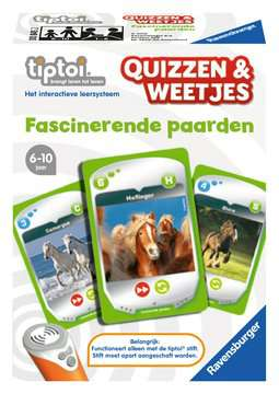 Quizzen en weetjes: Fascinerende paarden tiptoi®;tiptoi® de spellen - image 1 - Ravensburger