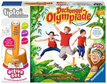 tiptoi® active Set Dschungel-Olympiade tiptoi®;tiptoi® Spiele - Bild 1 - Ravensburger