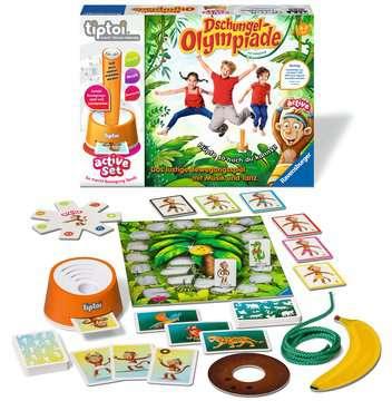 tiptoi® active Set Dschungel-Olympiade tiptoi®;tiptoi® Spiele - Bild 2 - Ravensburger