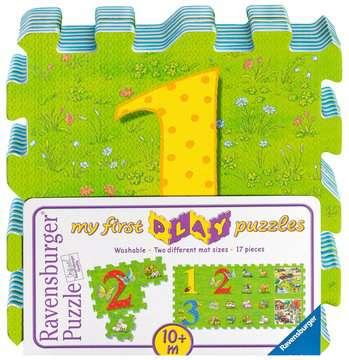 My first play puzzles - La ferme éducative Premier âge;Puzzles - Image 1 - Ravensburger