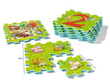 My first play puzzles - La ferme éducative Premier âge;Puzzles - Image 2 - Ravensburger