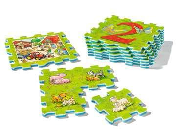 My first play puzzles - La ferme éducative Premier âge;Puzzles - Image 3 - Ravensburger