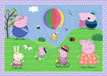 Peppa Pig Giant Floor Puzzle with Large Shaped Characters Puzzles;Children s Puzzles - image 2 - Ravensburger