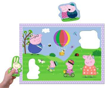 Peppa Pig Giant Floor Puzzle with Large Shaped Characters Puzzles;Children s Puzzles - image 3 - Ravensburger