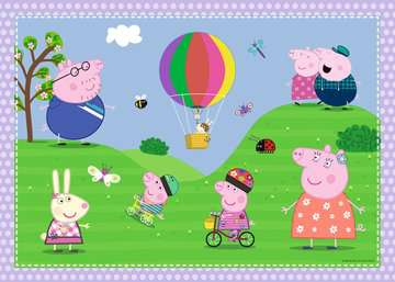 Peppa Pig Giant Floor Puzzle with Large Shaped Characters Puzzles;Children s Puzzles - image 4 - Ravensburger