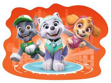 Paw Patrol Four Large Shaped Puzzles Puzzles;Children s Puzzles - image 5 - Ravensburger