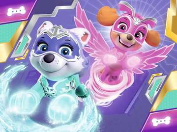 Paw Patrol Mighty Pups 4 in a Box Puzzles;Children s Puzzles - image 2 - Ravensburger
