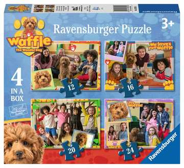 Waffle the Wonder Dog 4 in a Box Puzzles;Children s Puzzles - image 1 - Ravensburger
