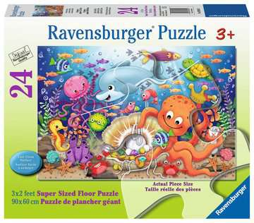Fishie s Fortune Jigsaw Puzzles;Children s Puzzles - image 1 - Ravensburger