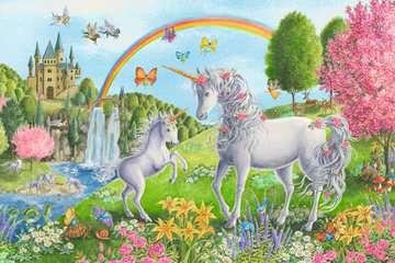 Prancing Unicorns Jigsaw Puzzles;Children s Puzzles - image 2 - Ravensburger