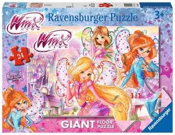 Winx Puzzle 24 Giant Pavimento Puzzle;Puzzle per Bambini - immagine 1 - Ravensburger