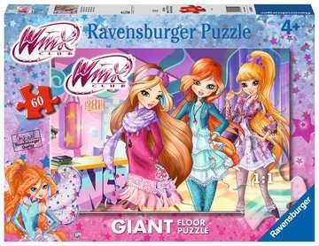 Winx Puzzle 60 Giant Puzzle;Puzzle per Bambini - immagine 1 - Ravensburger