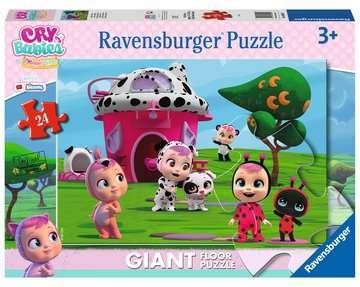 Cry Babies Puzzle 24 Giant Pavimento Puzzle;Puzzle per Bambini - immagine 1 - Ravensburger