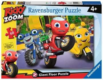 Ricky Zoom, Giant Floor Puzzle, 60pc Puzzles;Children s Puzzles - image 1 - Ravensburger