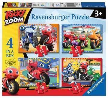 Ricky Zoom Puzzle 4 in a Box Puzzle;Puzzle per Bambini - immagine 1 - Ravensburger