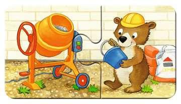 Dieren in de bouw Puzzels;Puzzels voor kinderen - image 3 - Ravensburger
