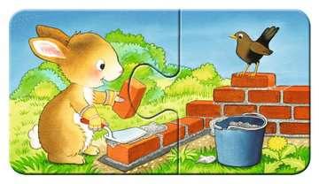 Dieren in de bouw Puzzels;Puzzels voor kinderen - image 4 - Ravensburger
