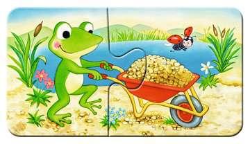 Dieren in de bouw Puzzels;Puzzels voor kinderen - image 5 - Ravensburger