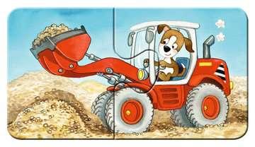 Dieren in de bouw Puzzels;Puzzels voor kinderen - image 6 - Ravensburger
