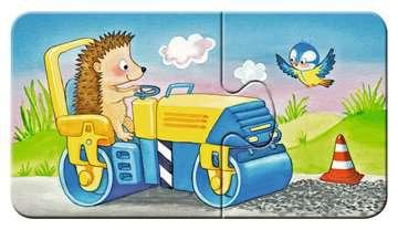 Dieren in de bouw Puzzels;Puzzels voor kinderen - image 9 - Ravensburger