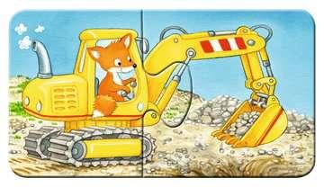 Dieren in de bouw Puzzels;Puzzels voor kinderen - image 10 - Ravensburger