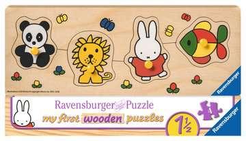 nijntje en haar dierenvriendjes Puzzels;Puzzels voor kinderen - image 1 - Ravensburger