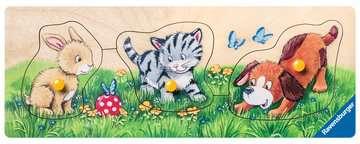 Niedliche Tierkinder Puzzle;Kinderpuzzle - Bild 2 - Ravensburger