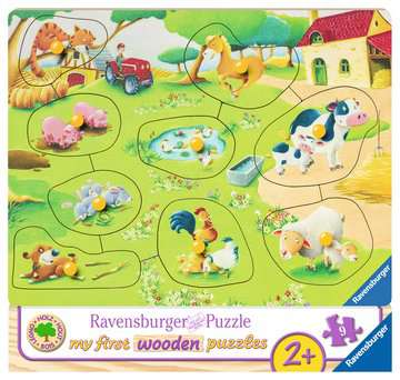 Kleine boerderij Puzzels;Puzzels voor kinderen - image 1 - Ravensburger