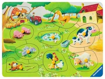Kleine boerderij Puzzels;Puzzels voor kinderen - image 2 - Ravensburger